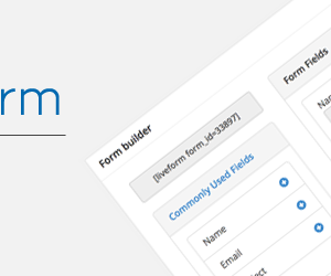 WordPress Live Form Free is available for Download Now