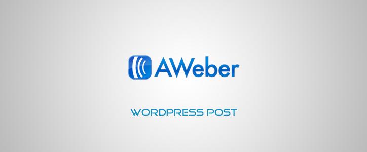 Aweber Subscription