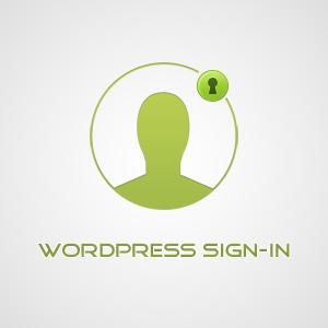 WordPress Signin Form