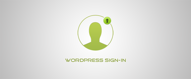 WordPress Signin Form