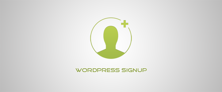 WordPress Signup Form